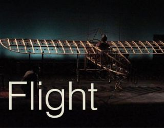 Flight, the play, written by Robyn Hunt, is conceived and directed by Steve Pearson.