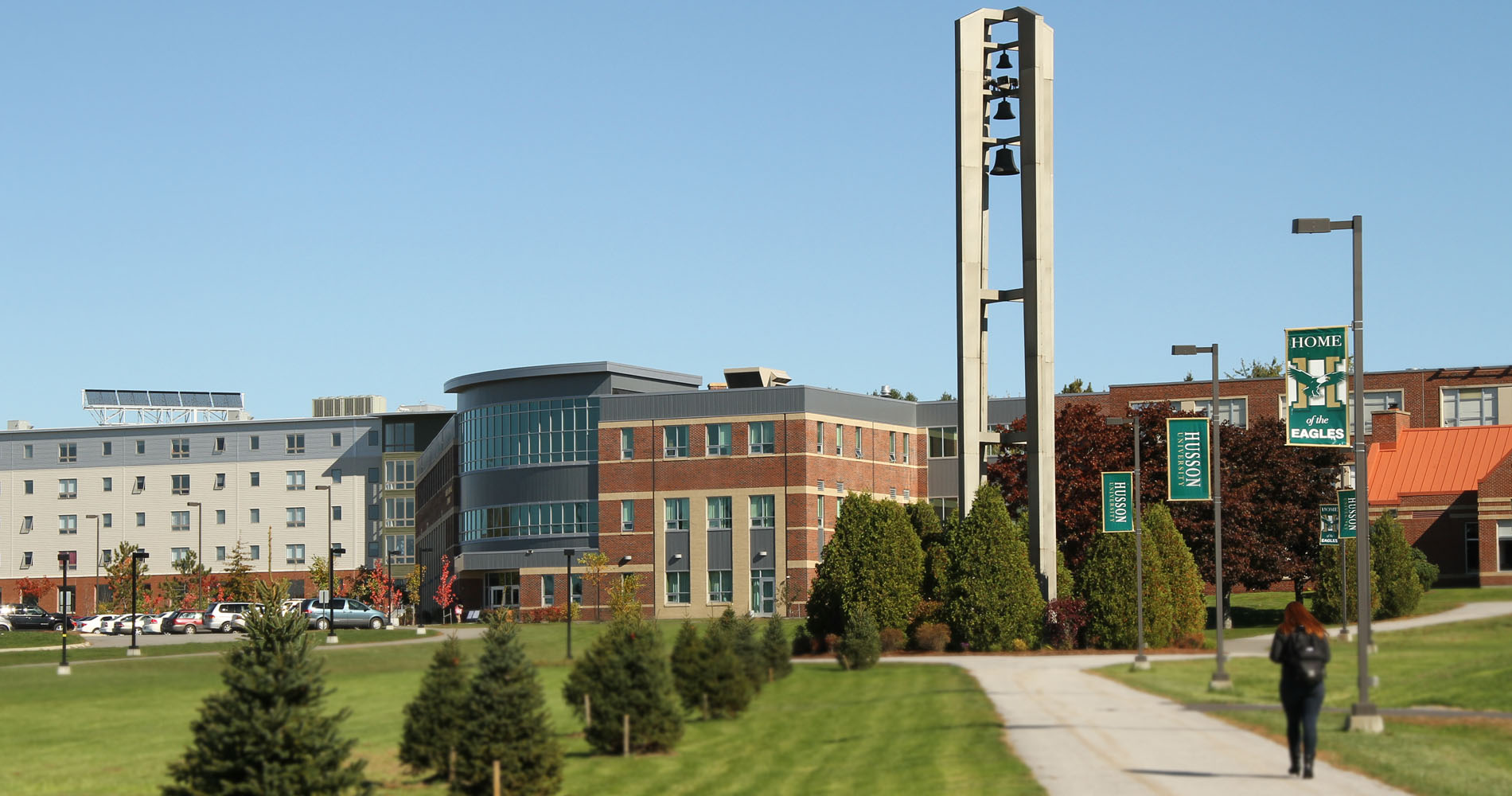 O'Donnell Commons as seen on the campus of Husson University