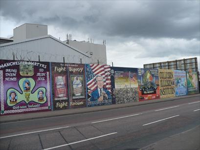 Photo of graffiti in Ireland