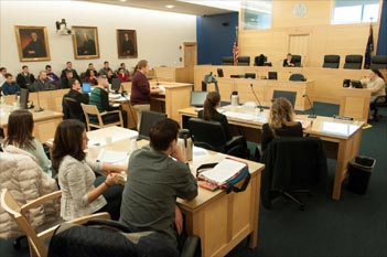 Husson University College of Business Mock Trial