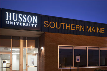Husson University Westbrook campus exterior image