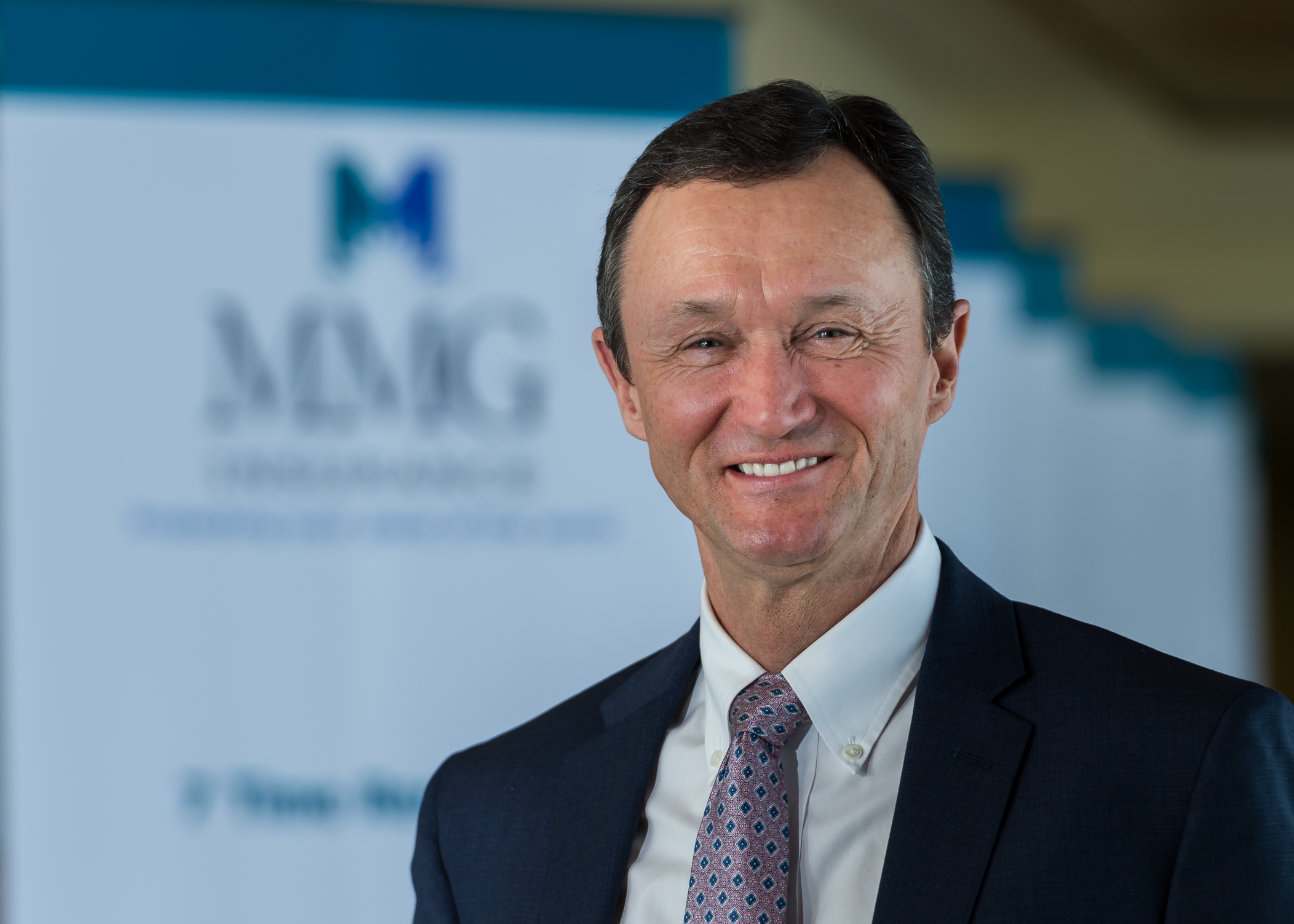 Larry M. Shaw, president and CEO of MMG Insurance