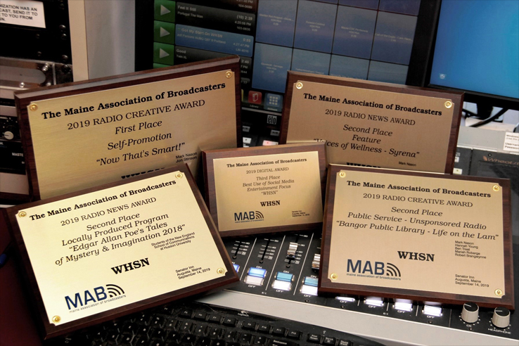 MAB awards presented to WHSN students and faculty