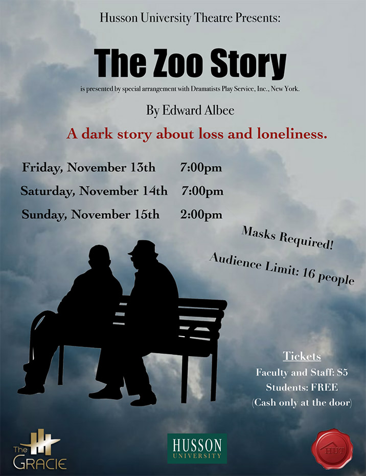 The Gracie Theatre Zoo Story Poster