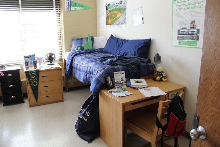 a typical dorm
